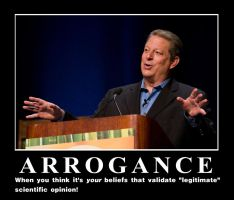 Al Gore - ARROGANCE by Elvis-Chupacabra