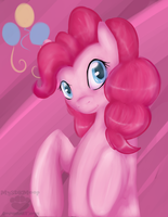 Style test: Pinkie Pie by SplatterSky