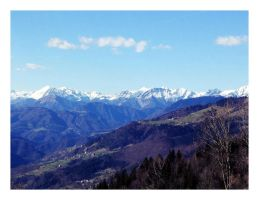 Slovenian mountains by ateljEE