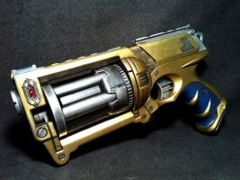 Sky Captain's Sidearm Progress Photo by JohnsonArms