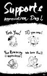 Supports Appreciation Day! by Lapin-de-Fou