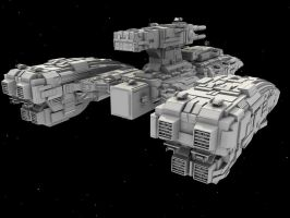 WiP5: BattleCruiser by AceDarkfire