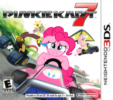 Pinkie Kart 7 by nickyv917