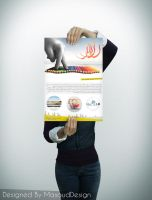 Roz Baner Poster by masouddesign