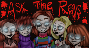 AskTheRays Tumblr Banner by CharlotteRay