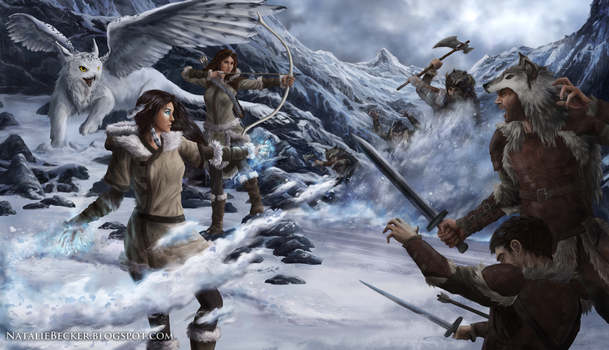 Arctic Conflict by Natalie-Becker