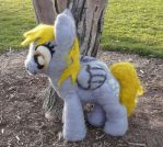 Derpy Hooves Plush 21 inches/53 cm by Throughawolfseyes