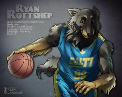 FBA 2013 Draft Candidate - Ryan Rottshep by Rhandi-Mask