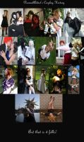 Cosplay through the years. by ElynneCostumes