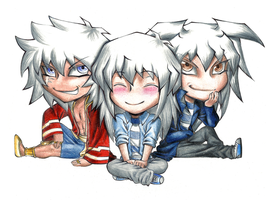 The 3 Bakuras by AngelLust155