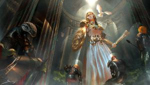 Athena , The Goddess of Wisdom by Ron-faure