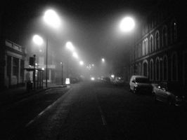 Fog at Night 1 by jpa