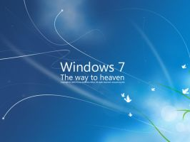windows 7 the way to heaven by nemiraal