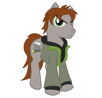 Pony Alan Wake by PenStrokePony