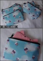 Drifloon/Drifblim 3DS/XL Pouches: FOR SALE by SmileAndLead