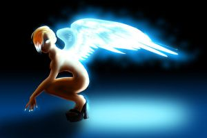 Drchrissy's angel CLRD by Blucaracal