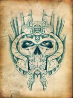 UNDEAD AZTEC KING by amota