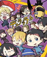 Chibi Durarara- Colored by takoballs