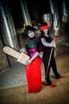 Kanaya and Terezi Cosplay by Sioxanne