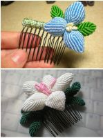 Flower Combs by BX211