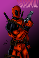 Deadpool Practice by Wessel