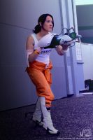Chell Cosplay - 2 by Millster-Ink