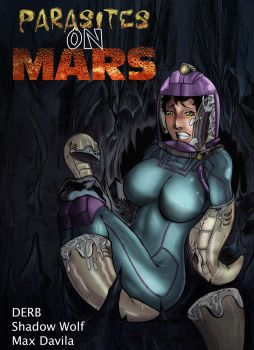 Parasites on Mars - Cover Page by drb7364
