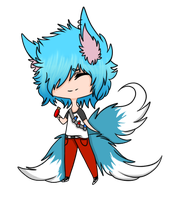 Chibi For KittyKittysune by Navicii