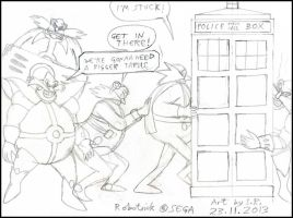 Robotniks And The Tardis by Sricketts14381