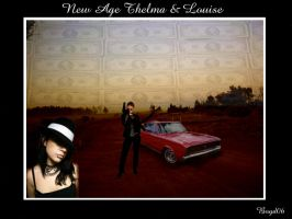 New Age Thelma n Louise by outbackheaven