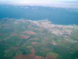 Newquay from above by captainflynn