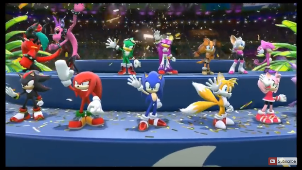 Sonic at the Olympics by Bandidude
