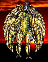 Apocalypto Angel - Coloured by kingjules71