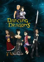 AtLA - Dancing Dragons Promo Colored by DarthAnimus