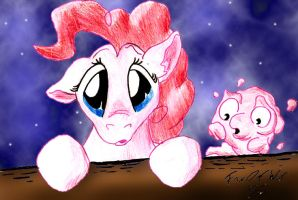 Pinkie and Morph by FoxOFWar