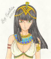 Kagura as Queen of Egypt by Lucy-Constellation