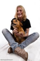 People And Their Pets: Simone And Spikey 2 by mariokluser