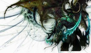 Illidan Wallpaper by Acherus29A