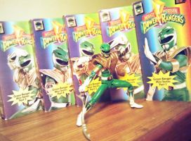 ULTIMATEfigures - My Green Ranger Collection Pic 2 by ULTIMATEbudokai3