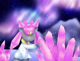 Diancie- Artic Crystals by Rose-Beuty
