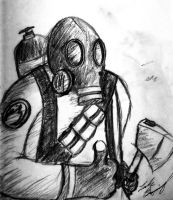 Pyro in Charcoal! Fitting by UndeadHeadArt