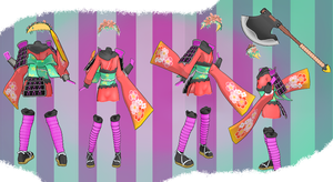 MMD Outfit 44 by MMD3DCGParts