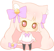 Kitty Mini Cheeb by PuffyPrincess