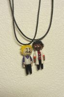 WTNV: Cecil and Carlos necklaces by GingerwithHat