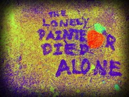 The Lonely Painter Died Alone by Junthor
