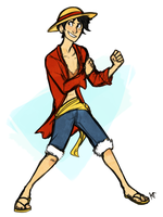 Luffy by Susiron