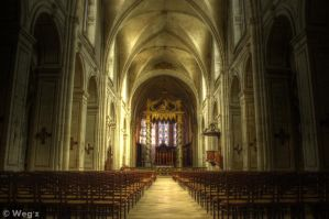 Verdun Cathedrale HDR by BioHazardSystem