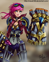 Vi the Piltover Enforcer by Nasuki100