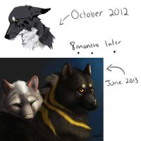 8 Months of Learning by TieWolf