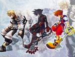 Ven Vanitas Sora Roxas Wall by LoveLoki
